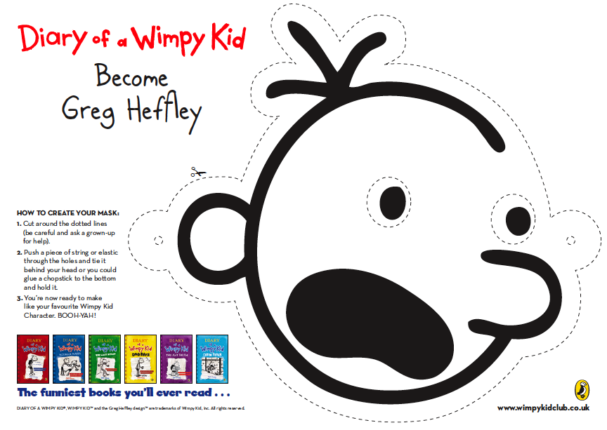diary of a wimpy kid resources printables school