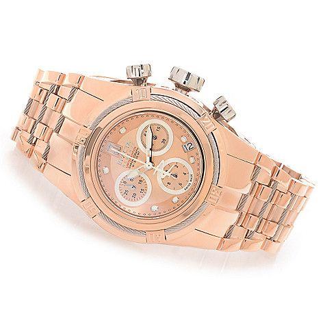 622-846 - Invicta Reserve Women s Jason Taylor Bolt Zeus Swiss Chronograph  Bracelet Watch w  3-Slot Dive Case e13e7072c6