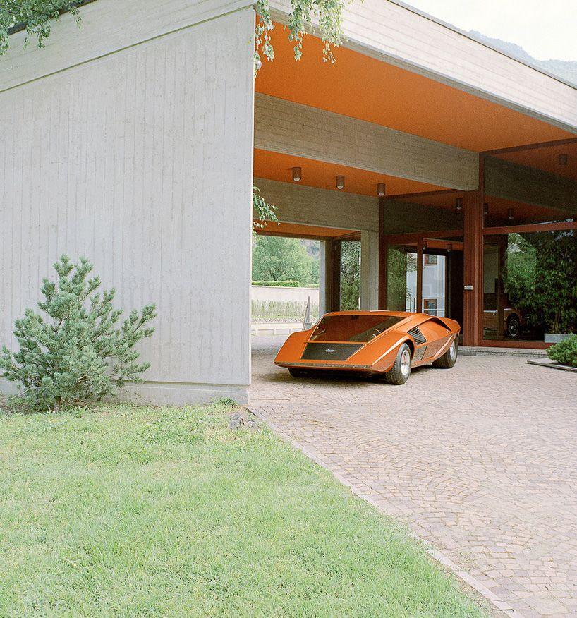 Rare Look at Concept Cars by Italian Design Firm Bertone: 1970 Lancia Stratos Zero