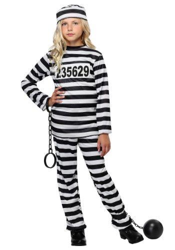 21cb149531c Girl s Prisoner Costume
