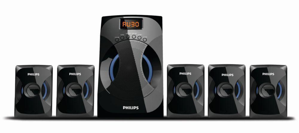 Philips Spa4040b 94 Multimedia Speakers System Black In 2020 Multimedia Speakers Best Smartphone Speaker System