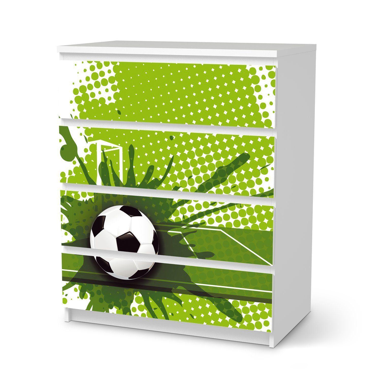 ⚽Fußballzimmer   Soccer Room   Dekor-Folie für IKEA Malm 4 ...