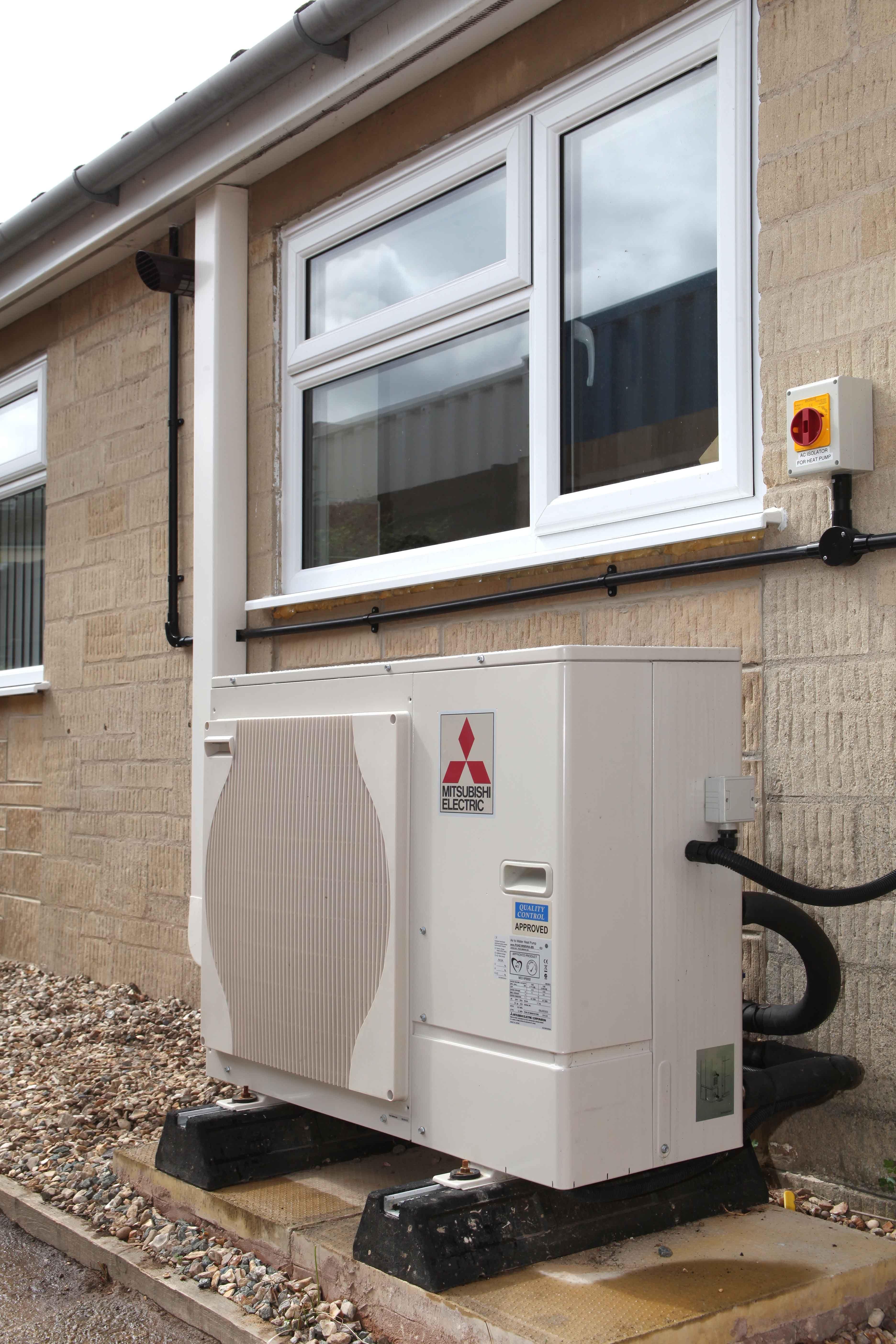 Air source heat pump Heat pump, Solar hot water, Heat