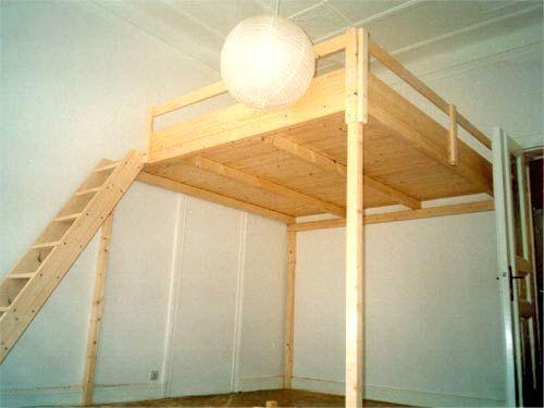 Bild 116 Hochbett Bausatz Hochbett Pinterest Hochbett Bett