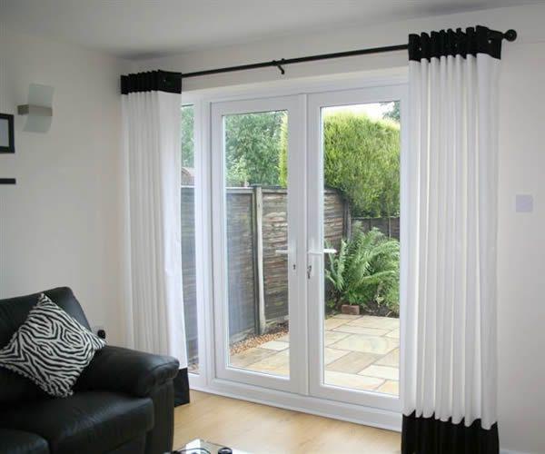 Exquisite Curtain Ideas In Green Color For Bedroom Patio Door Coverings Door Coverings French Doors Interior