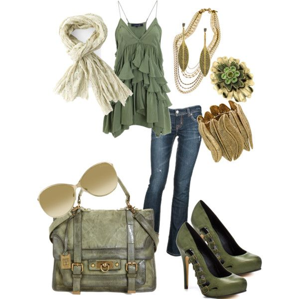 """""""spring sage..."""" by ambiegirl on Polyvore"""