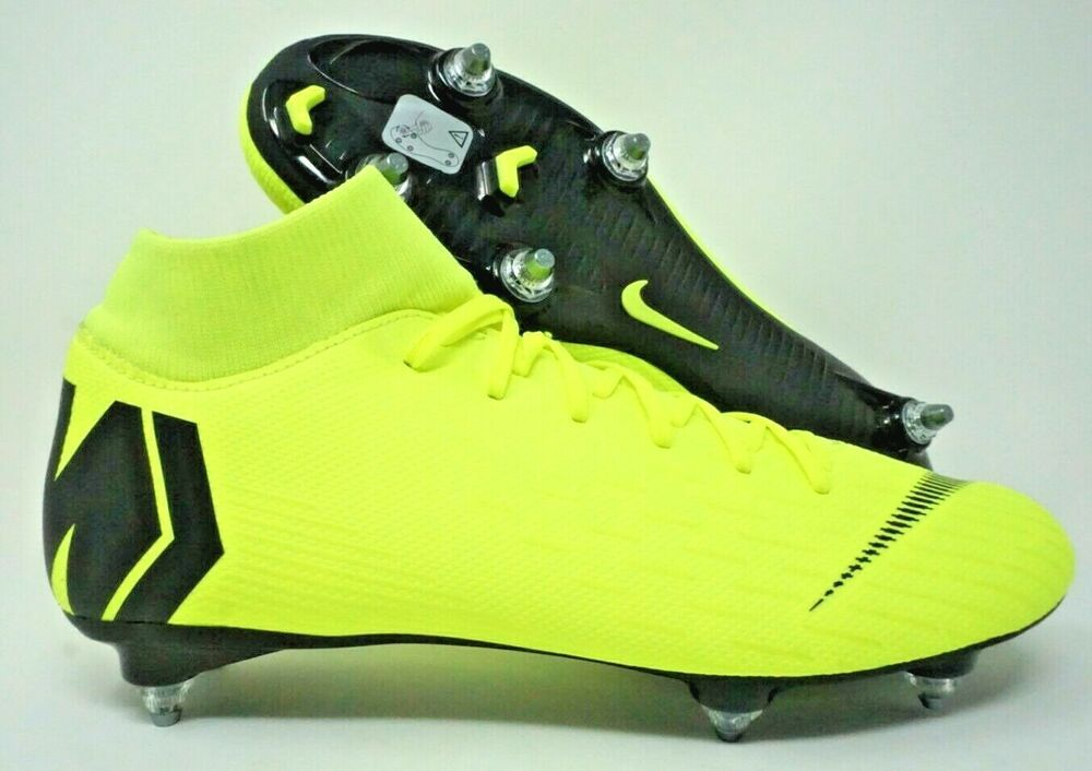 e4027dde4f52 eBay #Sponsored Nike Mercurial Superfly 6 Academy SG Pro Mens Football  Boots Black Volt Size 9