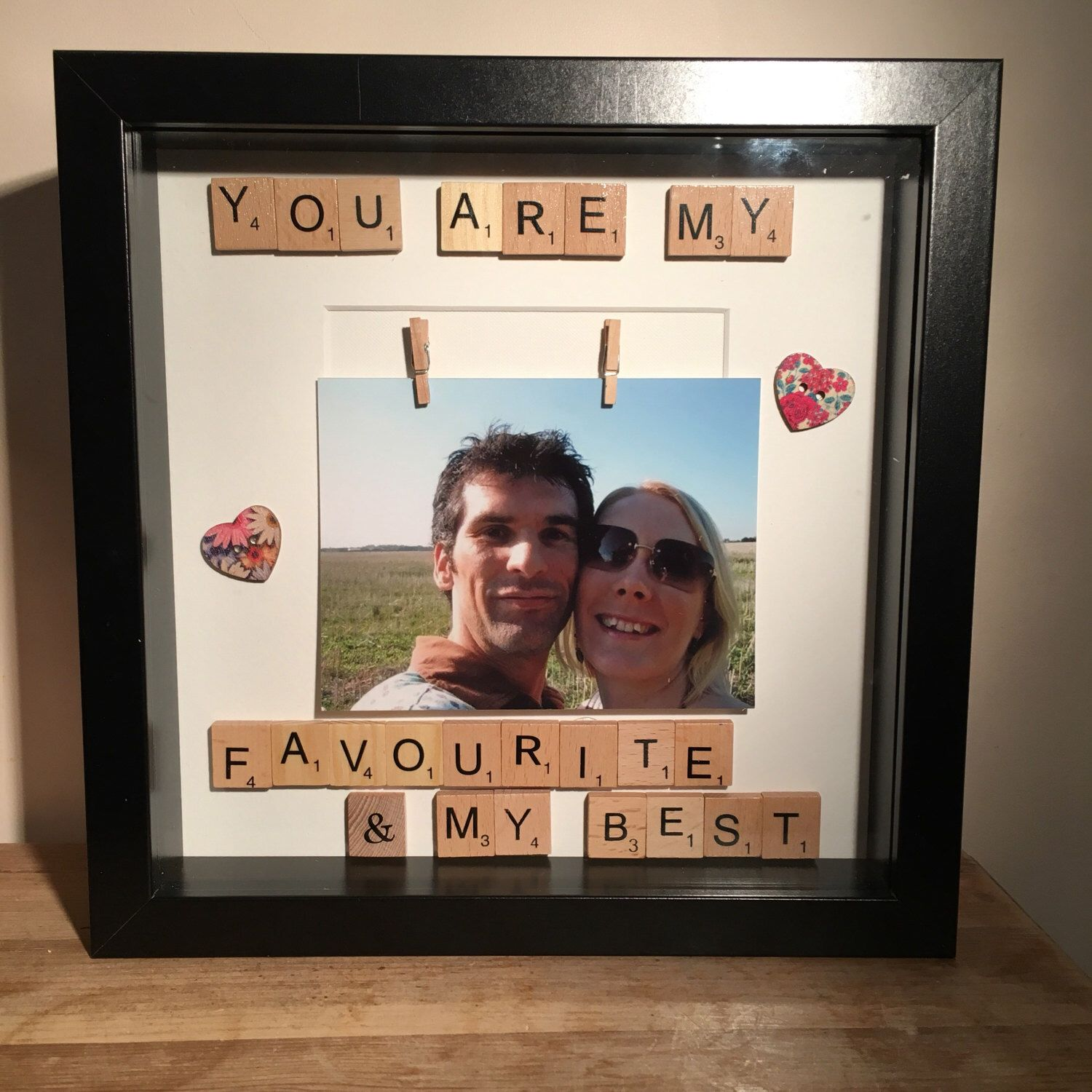 Favourite and best photo frame scrabble frame best