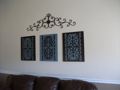 frugal home ideas crazy easy wall art is spreading i like this