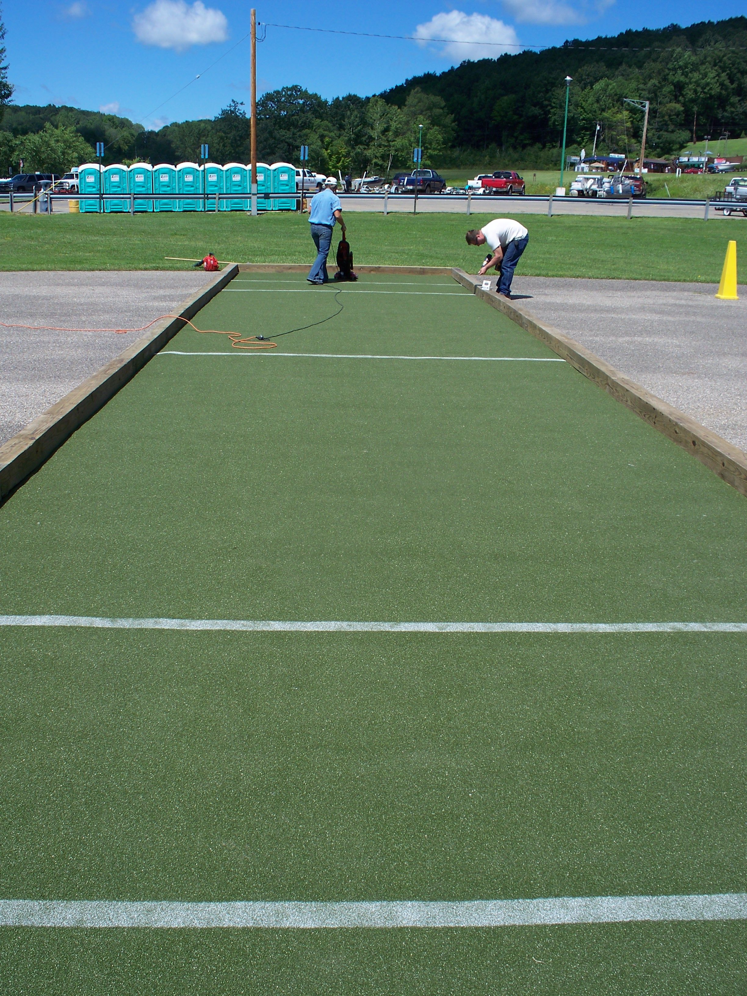Portable Bocce Courts From Custom Turf Of Wny For Your Next Event Ball Court