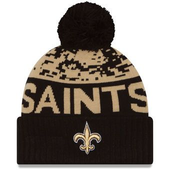 most popular casual shoes fresh styles Men's New Orleans Saints New Era Gold/Black Winter Freeze Cuffed ...