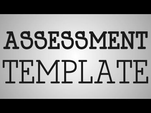 Nursing Education  Assessment Template  Youtube  Nursing