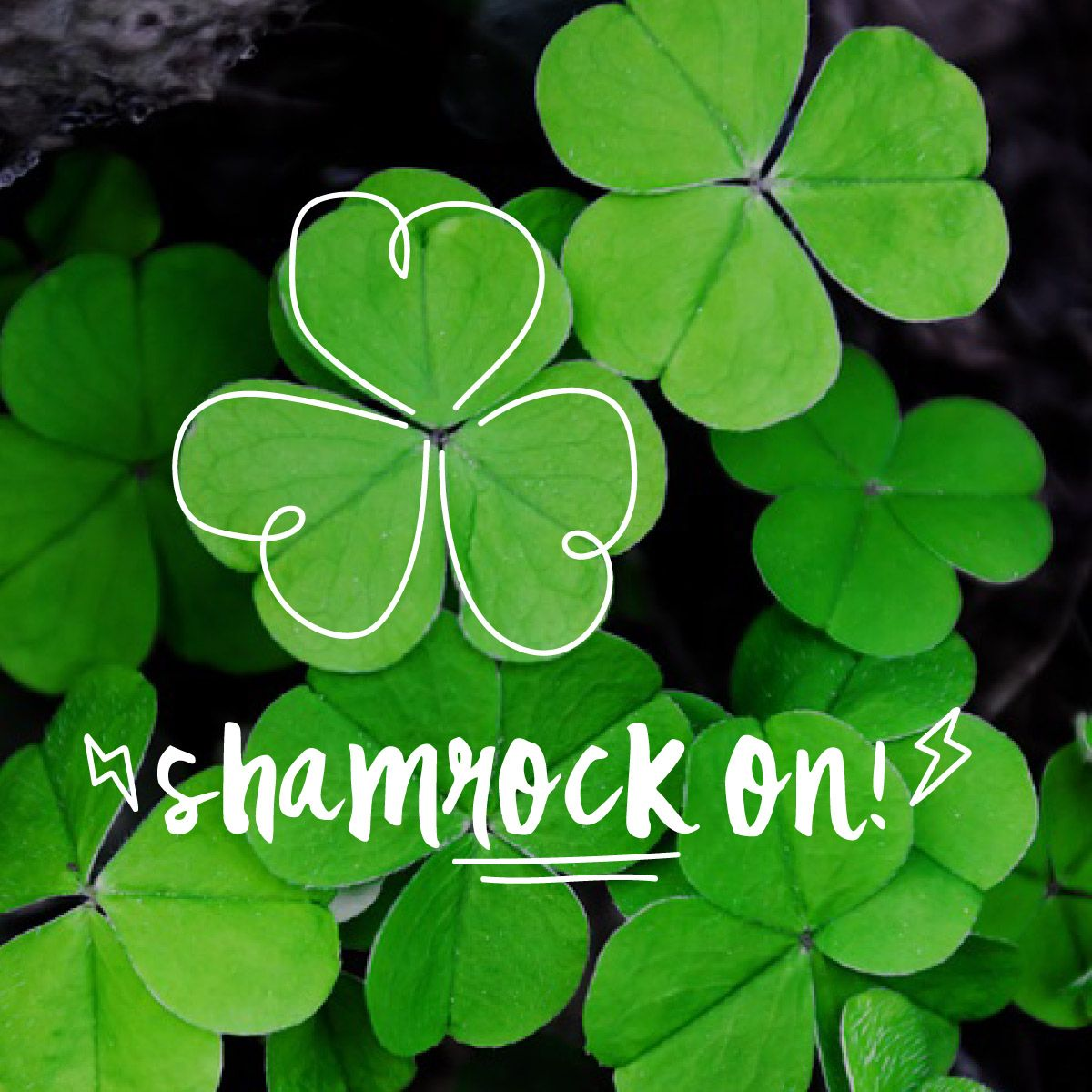 We hope your St. Patrick's Day ROCKS! What do you usually