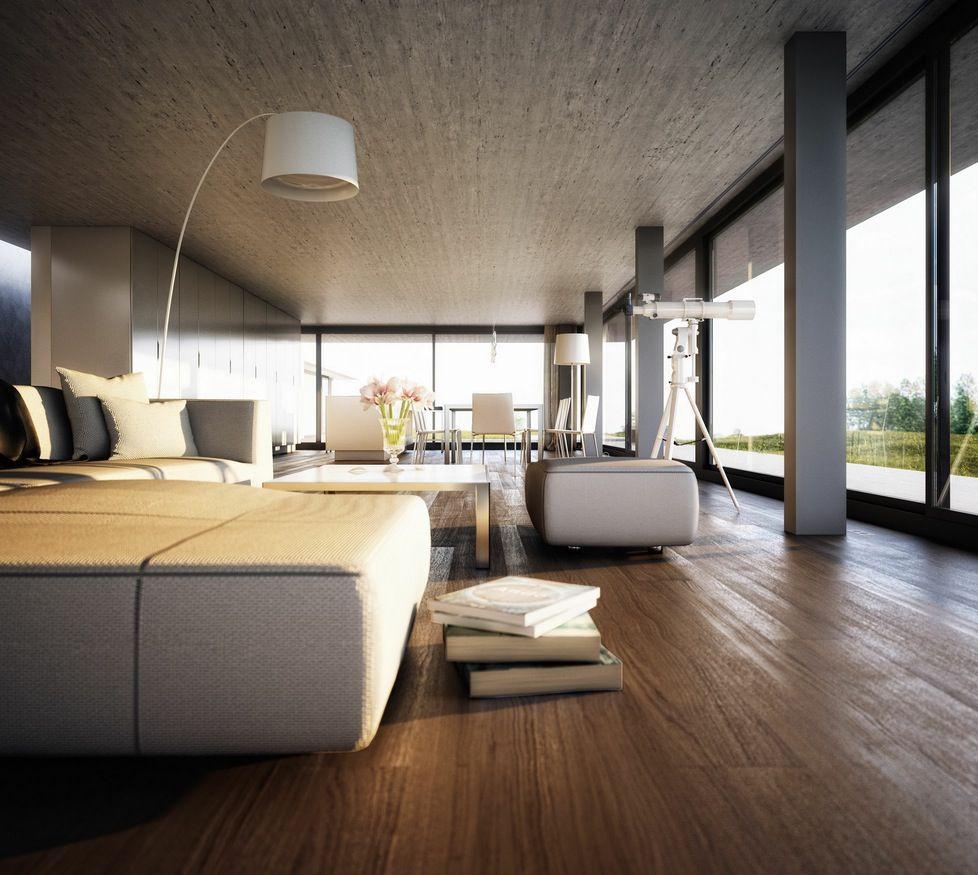 Glass interior design living room - Room Best Idea Modern Living Room Interiors Full Glass