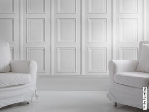Holzvertäfelung statt holzvertäfelung die papiertapete white panelling for the