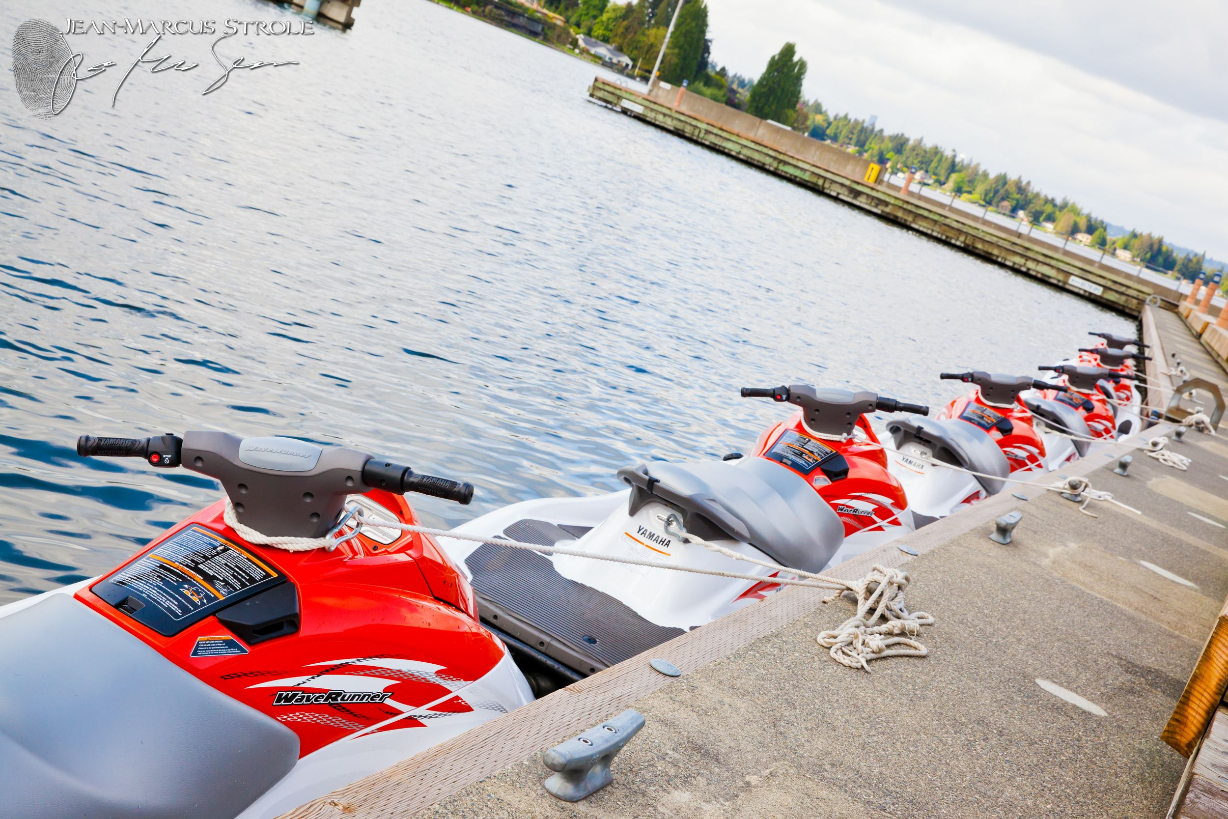 Rent a jet ski at carillon point via waterfront adventures