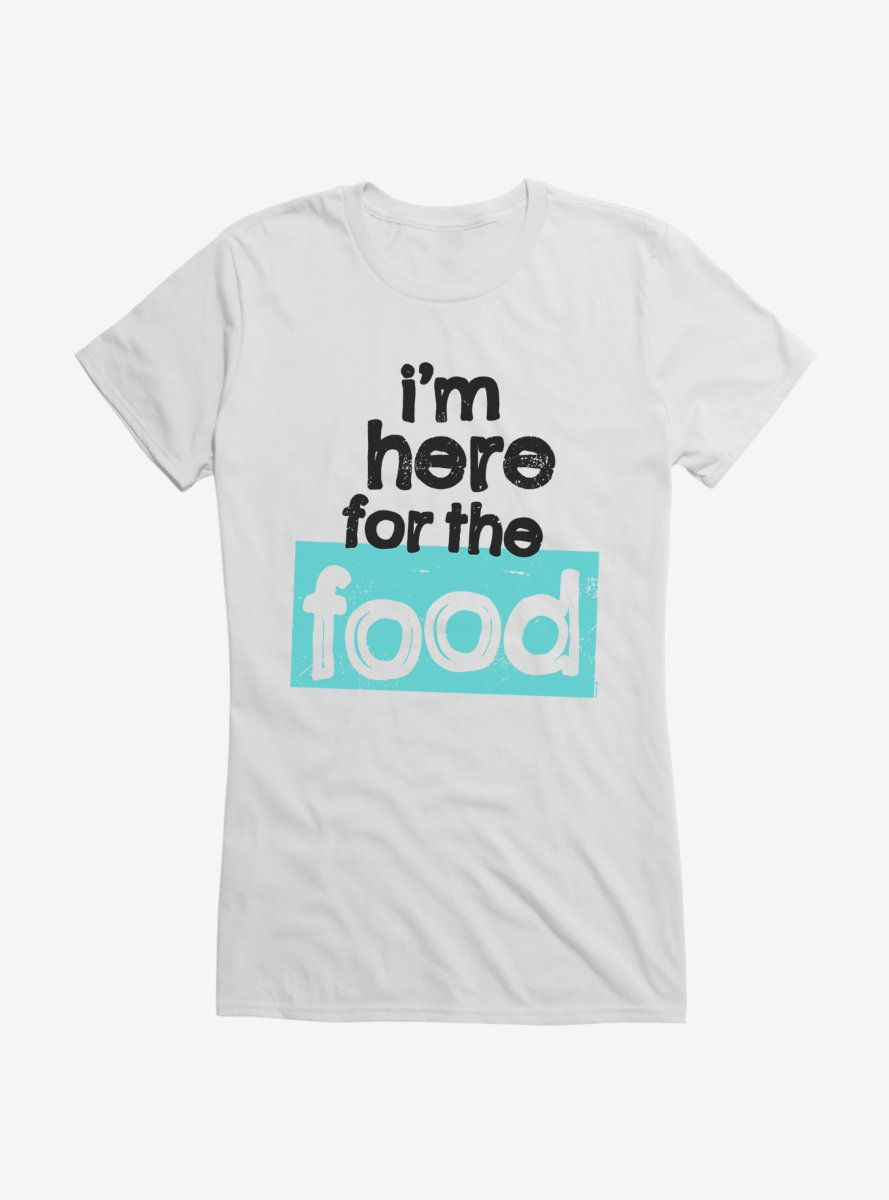 iCreate Here For Food Girls T-Shirt