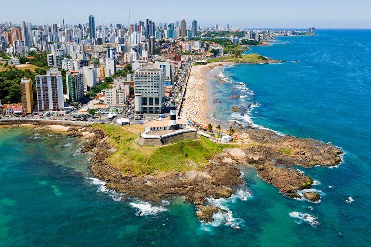 Savador and Bahia's North Coastline Aerial Photos, Fotos Aéreas de Salvador e Litoral Norte do Bahia