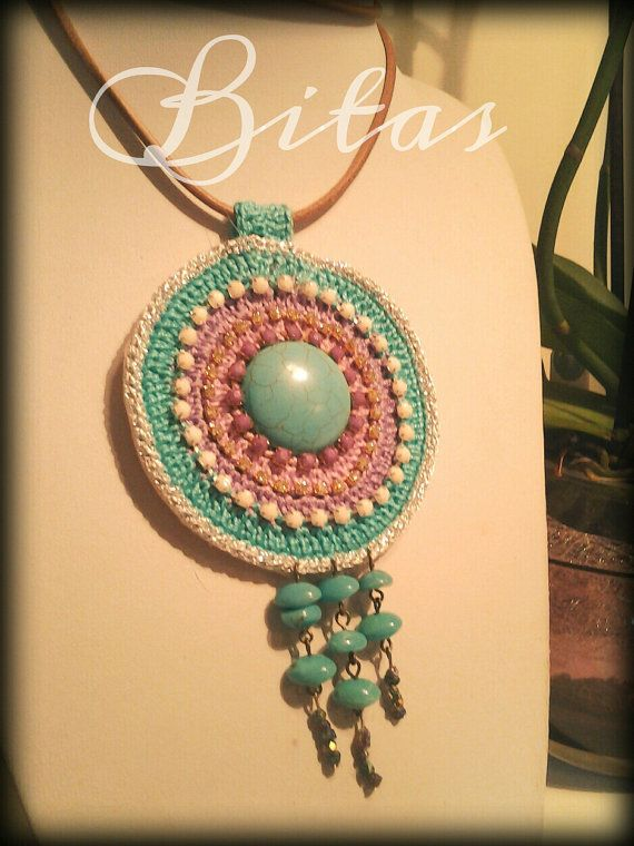 ethnic accessories BOHO CHIC gipsy MANDALA by BitasAccessories ...