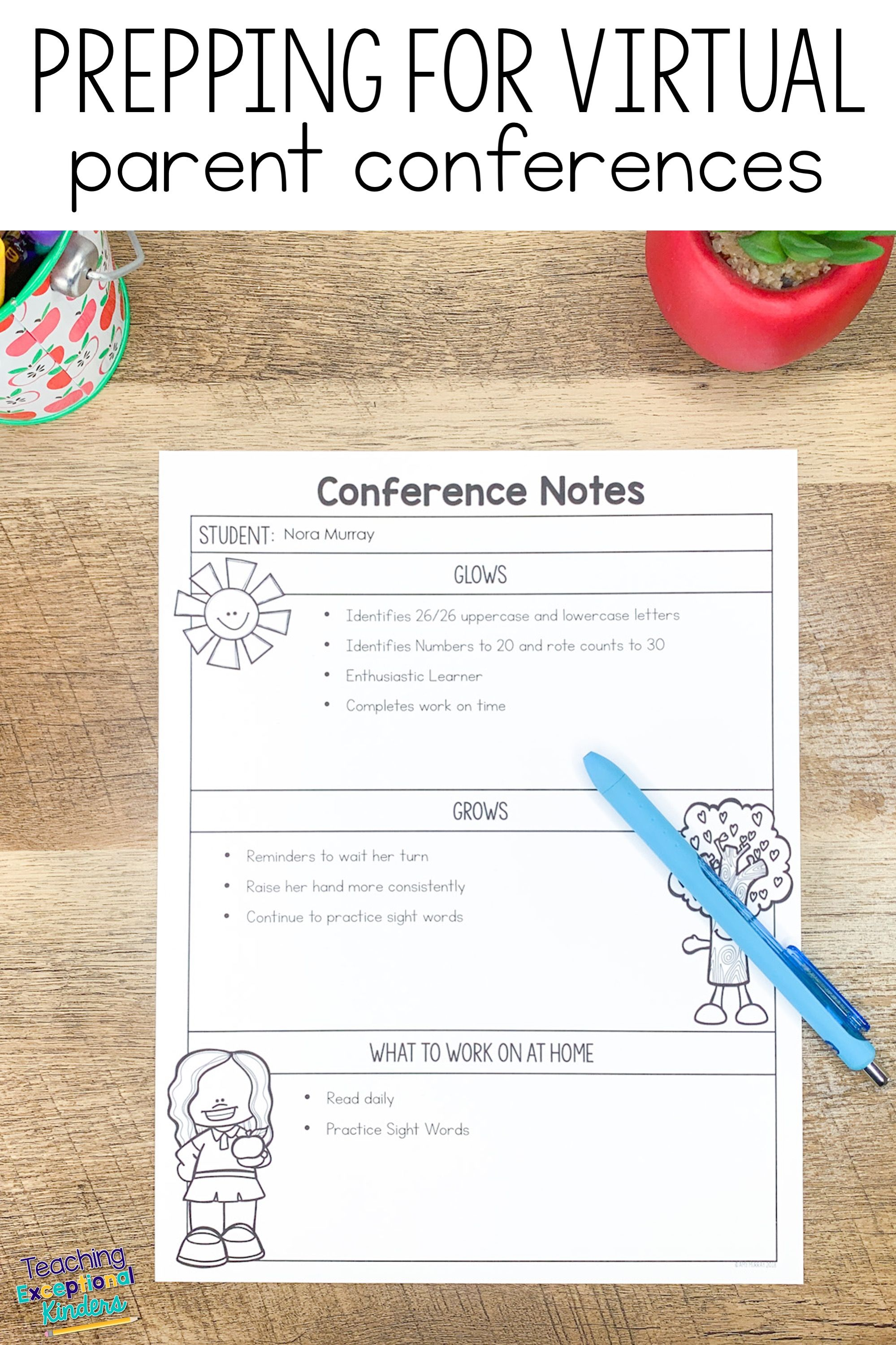How To Use Editable Conference Forms For Virtual Parent Teacher Conferences Parent Teacher Conference Forms Parent Teacher Conferences Parents As Teachers Pta meeting sign in sheet