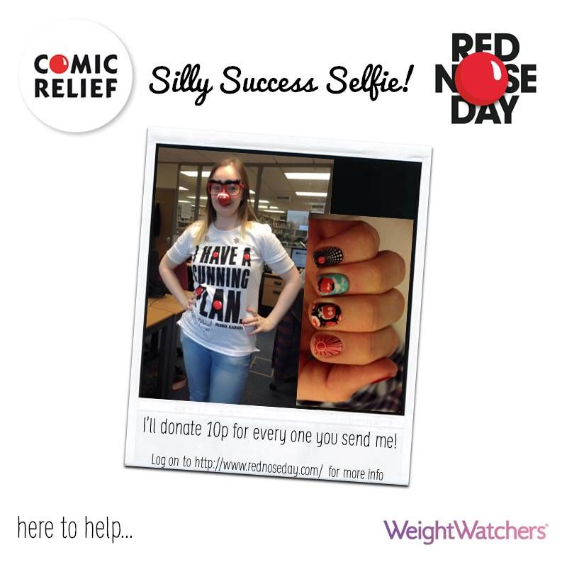 My BeYOUtiful golden girl Kelly has been on a bake sale all morning at work selling lots of goodies! Even got the nails done! #LoveWW #RND