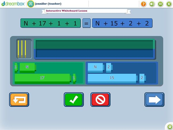 Dream box is a website with math review games for grades K-8  You