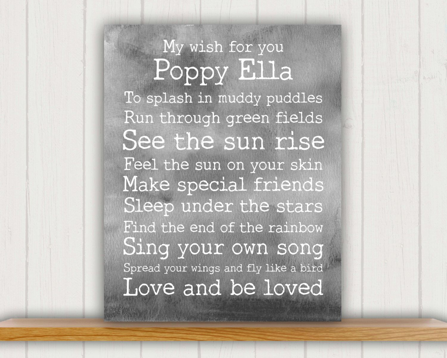 Personalized baby gift baby shower gift baby wish print baby gift personalized baby gift baby shower gift baby wish print baby gift personalized negle Choice Image
