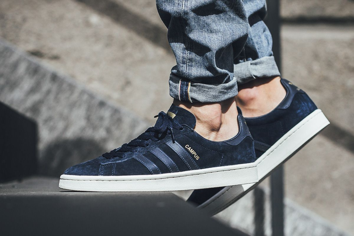 low priced 44a40 5d130 adidas Campus Reflective 3-Stripes (Collegiate Navy) - EU Kicks Sneaker  Magazine