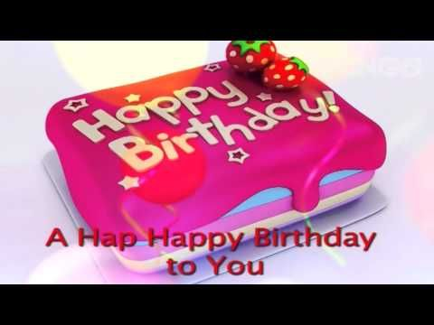 Astounding The Happy Birthday Song Lyric Video Youtube Happy Birthday Personalised Birthday Cards Paralily Jamesorg