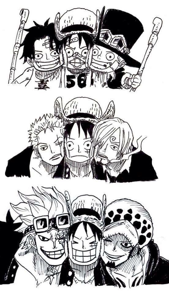 One Piece en Instagram