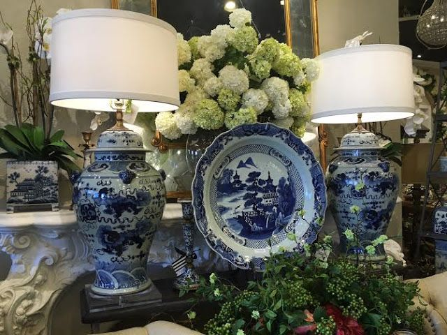 Decorating With Blue And White China: The Uptown Acorn: Shopping: The French Bee {Phoenix