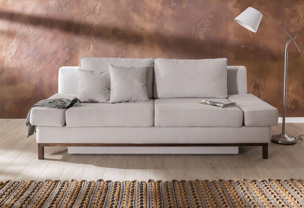 Schlafsofa Casa Moderne Schlafcouch Mit Verstellbaren Armlehnen