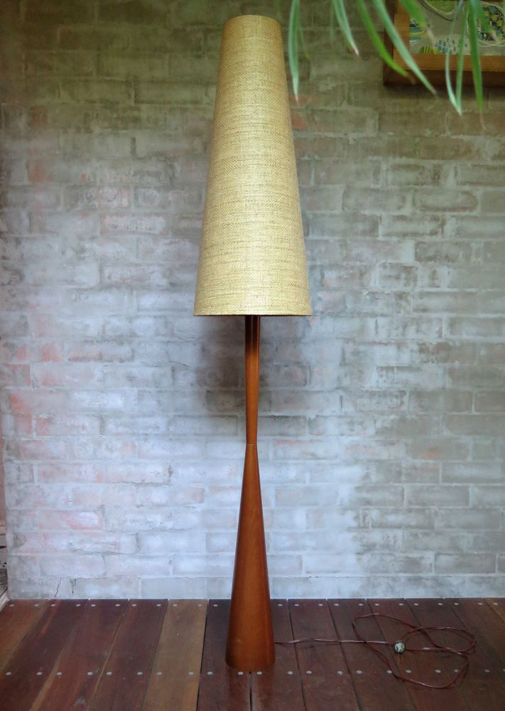 Parker Knoll Mid Century Eames Standard Lamp Base Shade Not Included In Collectables Homeware Kitchenware