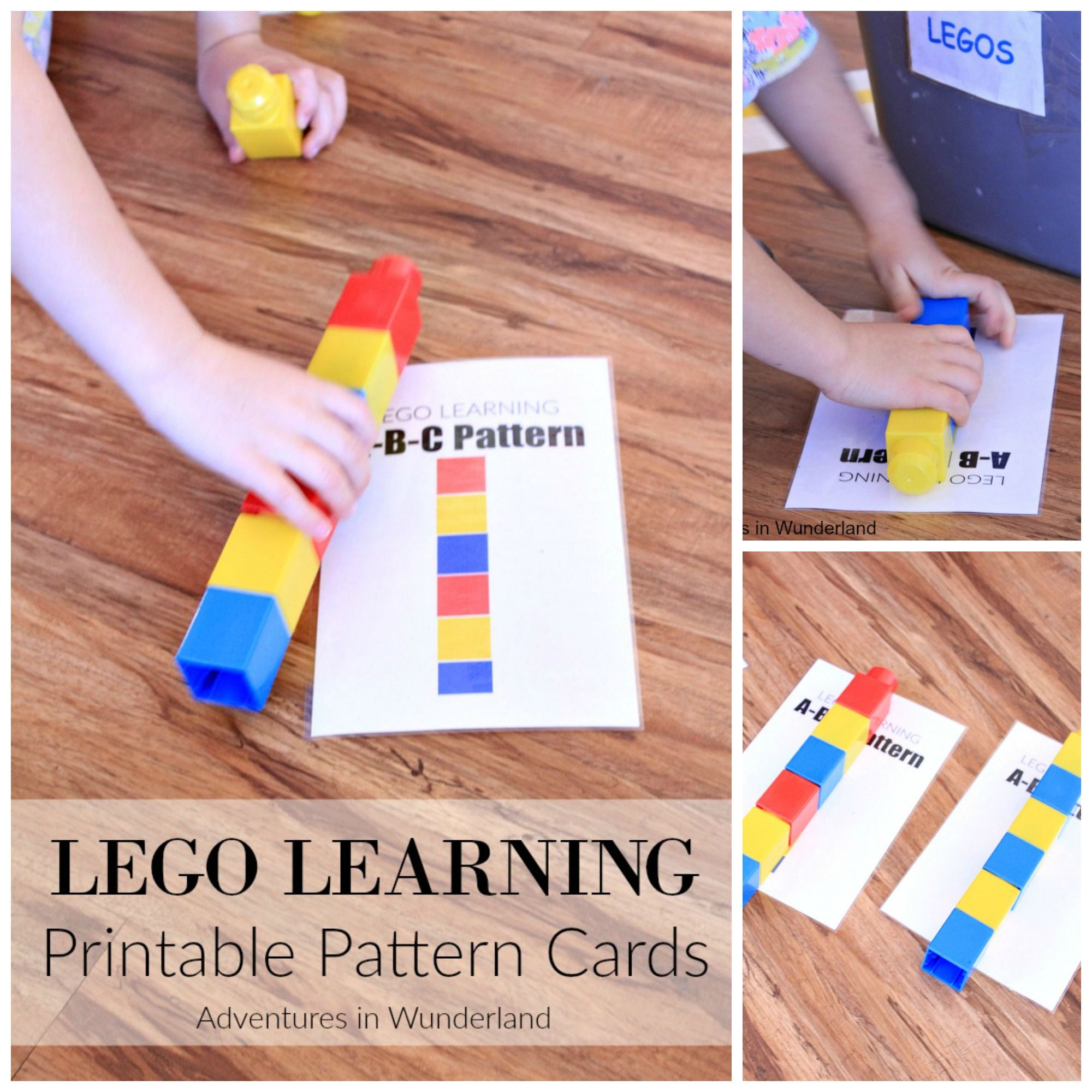 Lego Learning Pattern Printables With Images