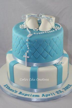Baptism Cake by CarlasCakeCreations CakesDecorcom cake