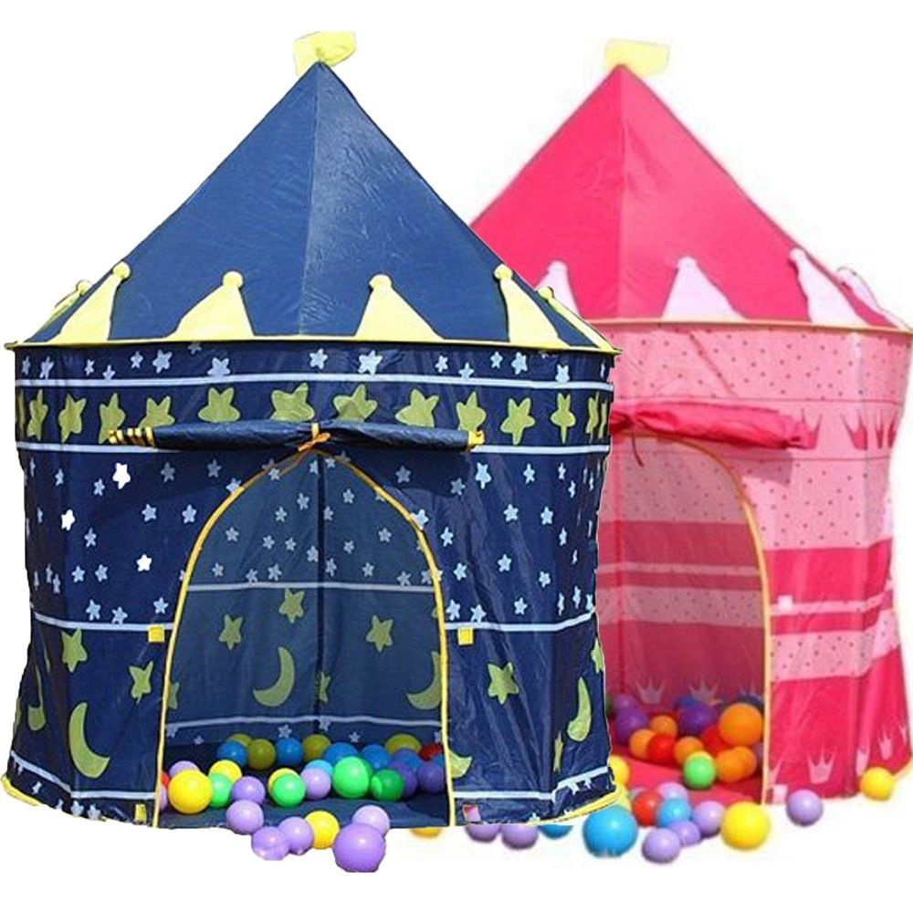 Childrens Pop Up Princess Wizard Castle Garden Indoor