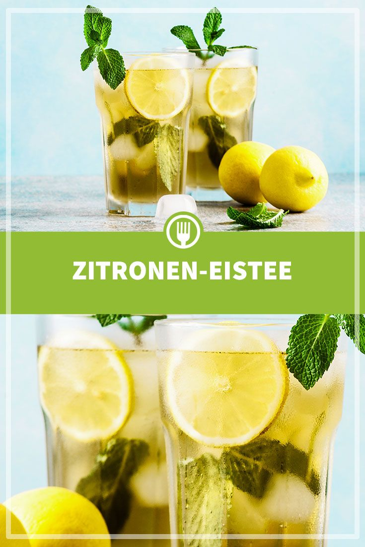 Zitronen-Eistee