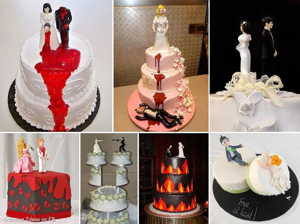 Cakes for divorce
