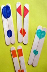 teaching to match small and large shapes great way to show how