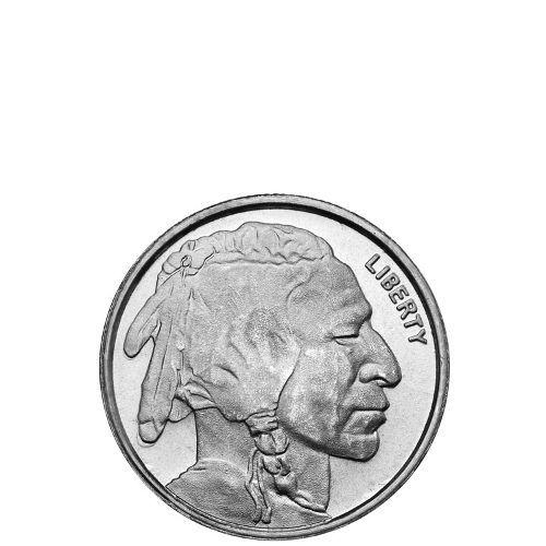1 4 Oz Hm Buffalo Silver Round New Silver Rounds Silver Bullion Silver