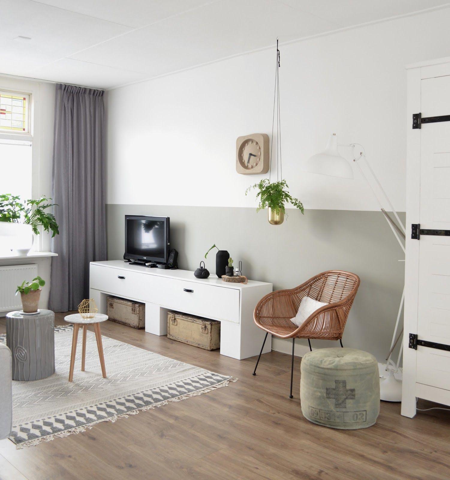 Handige tips om een lange en smalle woonkamer in te richten - Paars ...
