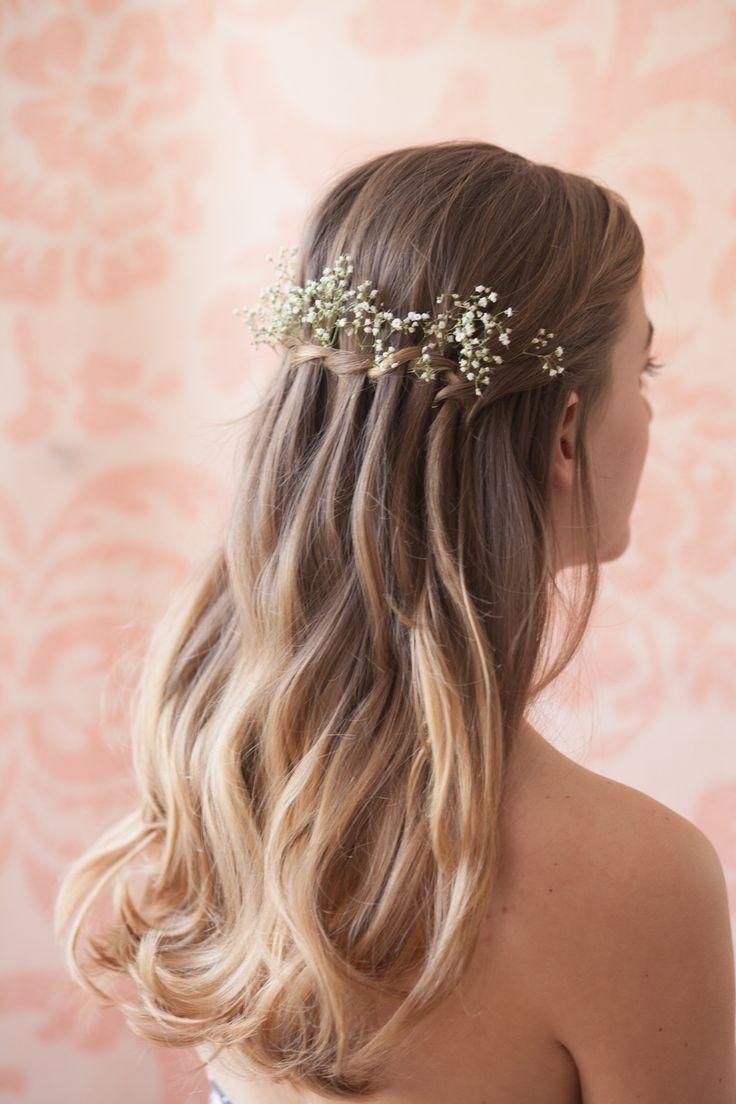 Bridal hair accessories babys breath - Baby S Breath Wedding Hair Bride Google Search