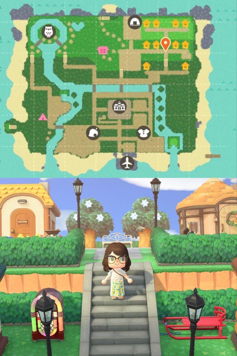 Animal Crossing New Horizons 10 Villager Residential Area Animal Crossing New Animal Crossing Animal Crossing Villagers