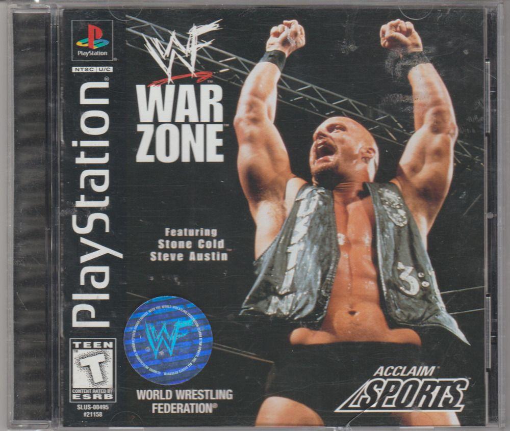WWF War Zone (Sony PlayStation 1, 1998) Complete.