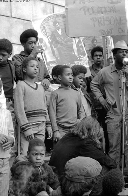 Children Attending A Demonstration In Front Of The San Francisco Federal Building Black Panther Black Panthers Movement Black Panther Party