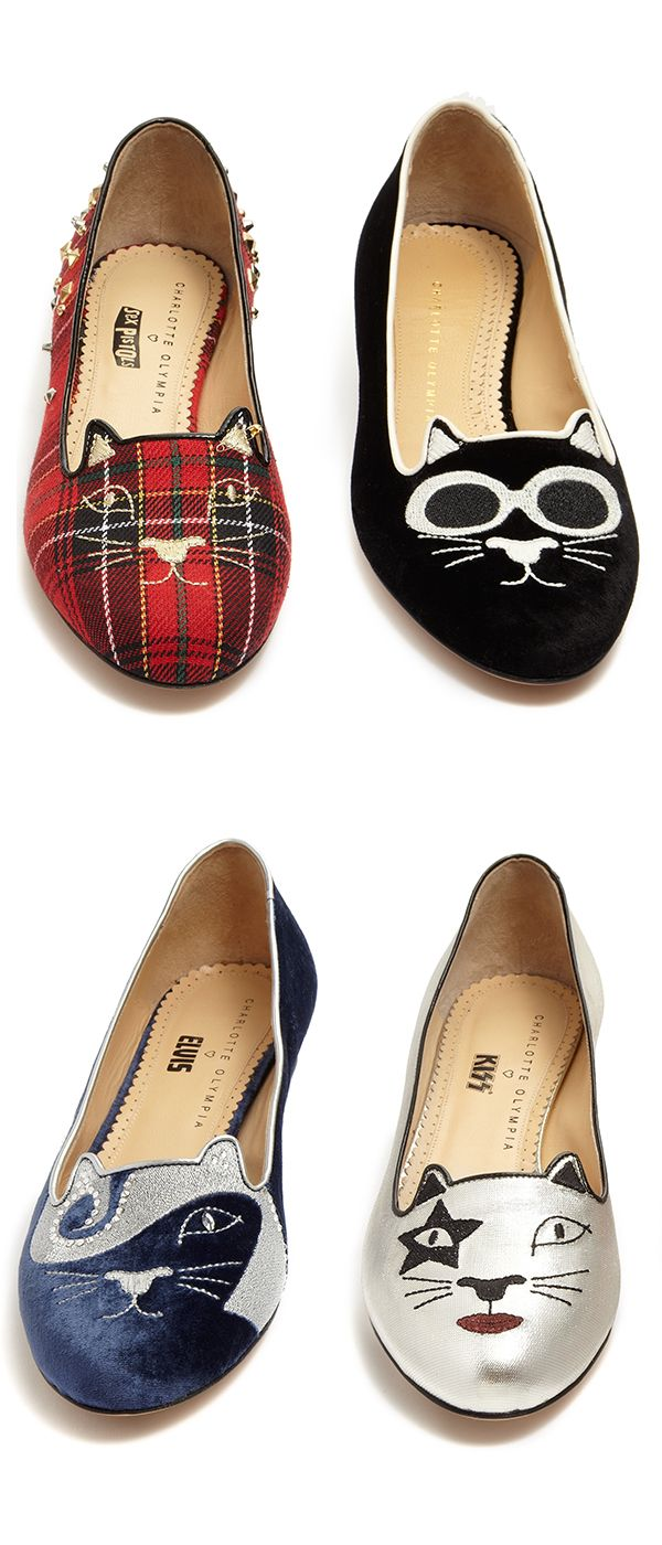 615c5a43b Whether your into grunge, punk, KISS or Elvis #CharlotteOlympia has a kitty  for that! #10022shoe