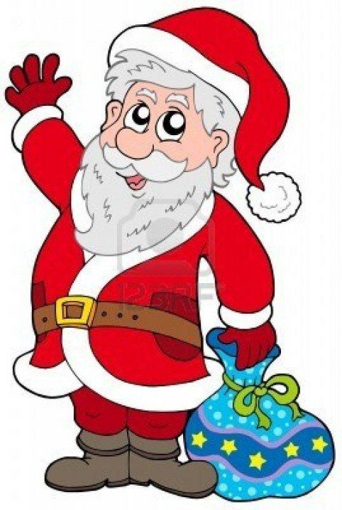 Animated Santa Claus Clipart Free Download Merry Christmas Santa