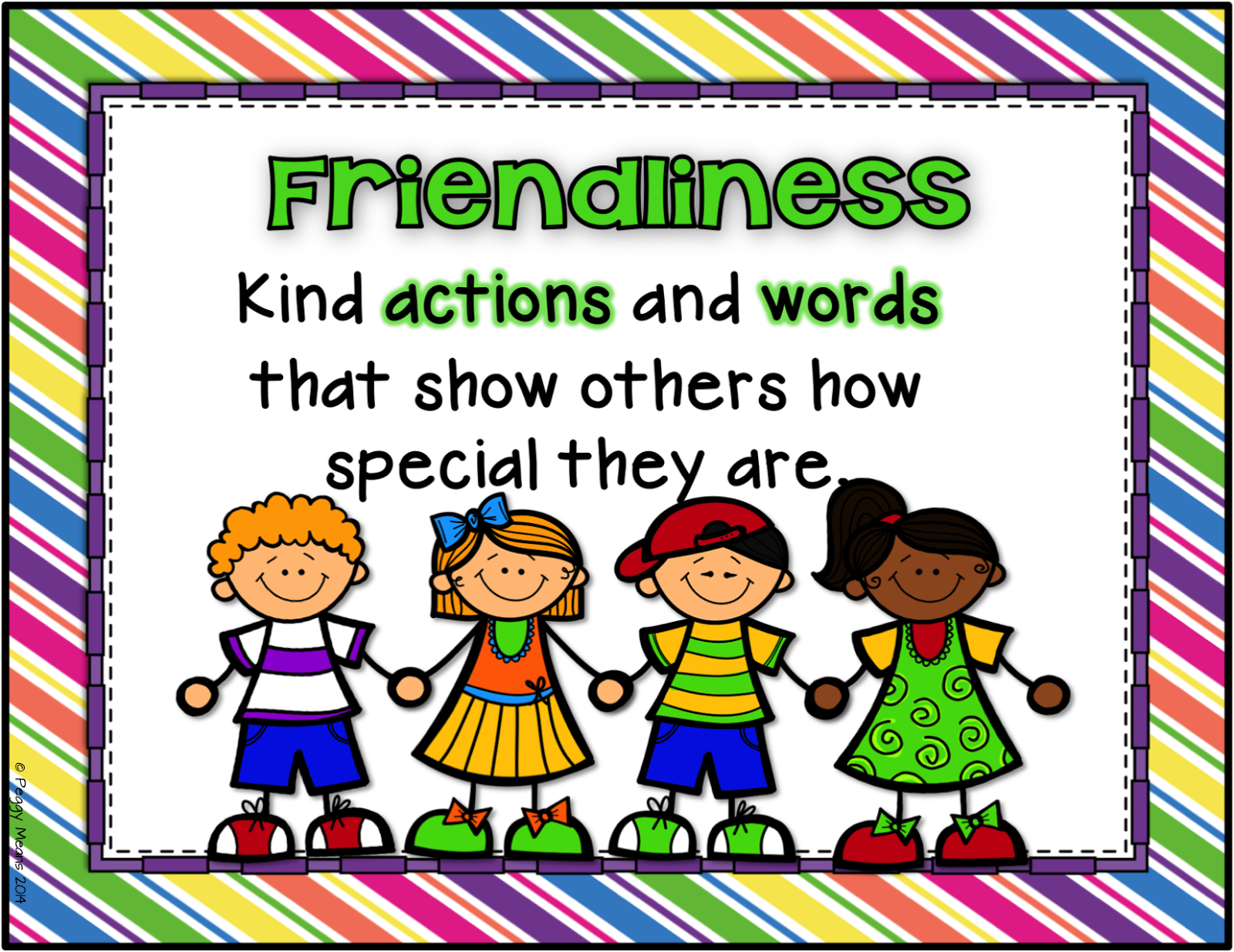 Friendliness   Character development, Students and ...