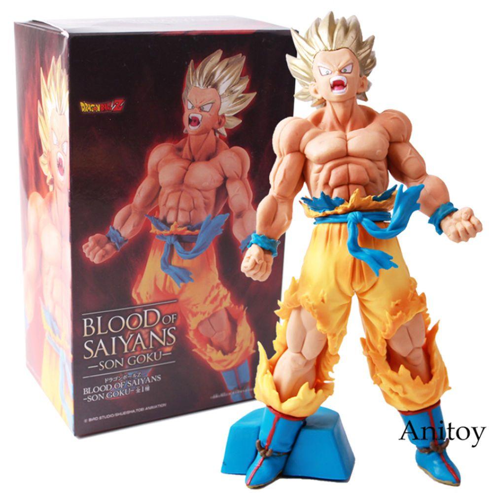 Anime Dragon Ball Z Saiyan Son Goku PVC Action Figure Figurine Toy Gift 12CM