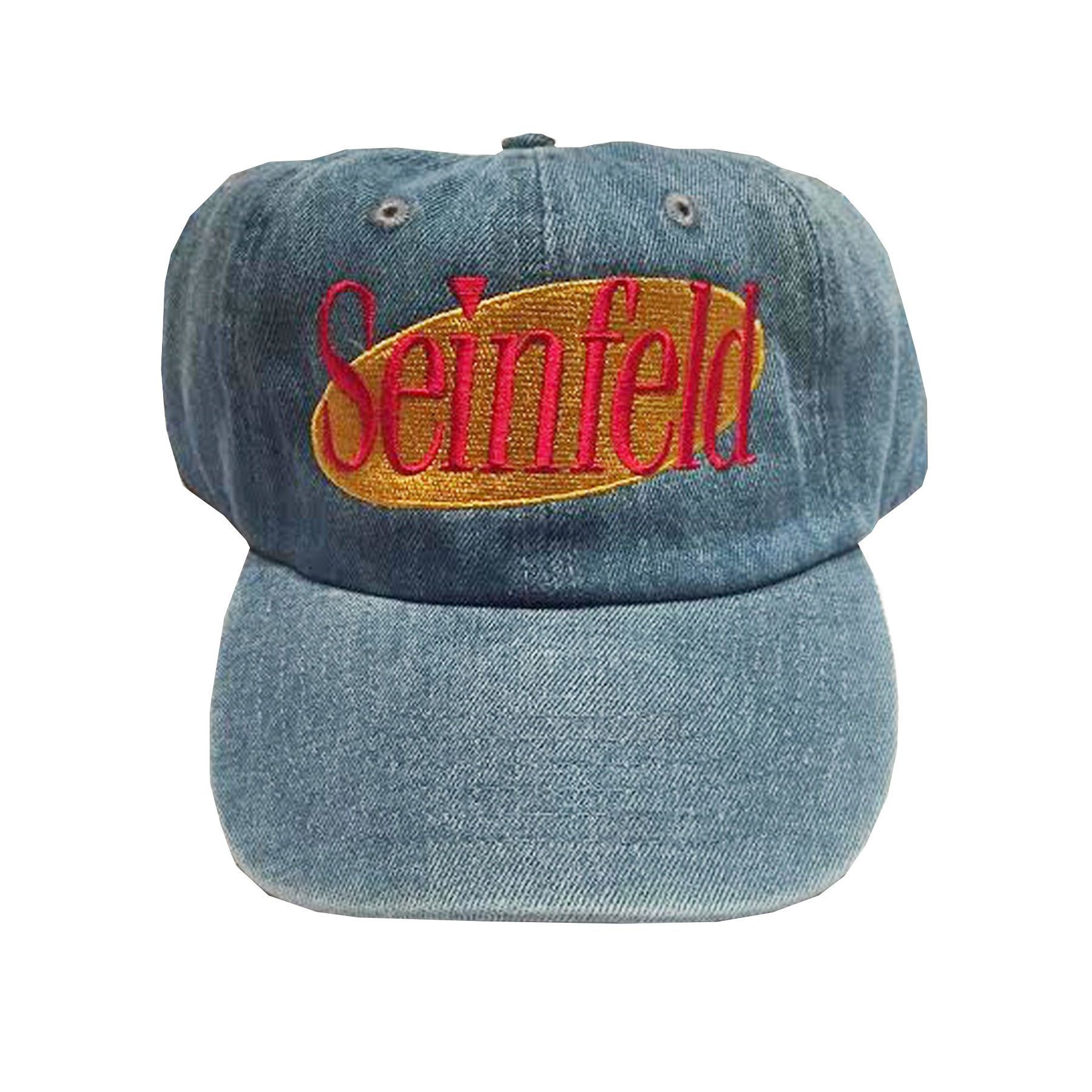 eeac4214fa0 Rock Hard Vintage Seinfeld Dad Hat In Denim